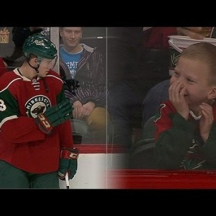 Minnesota Wild's Charlie Coyle Makes Kids Day:
