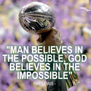 Ray Lewis' Top 10 Motivational Quotes