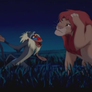 Lion King Scene: Rafiki On The Past Can Hurt